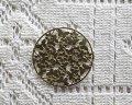 銅製透かしパーツ/フラワーラウンドe(2枚)