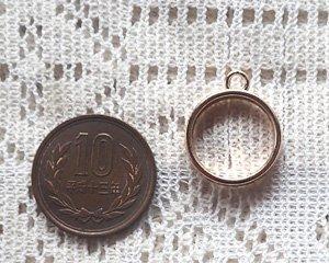 画像2: レジン用ラウンド空枠/薄型/15mm(1個)