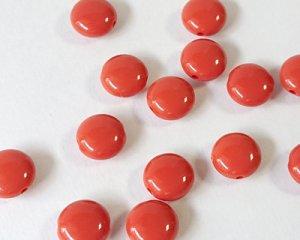 画像1: ヴィンテージ/プラスチック/テラコッタコイン(3個)