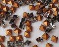 デッドストック/スワロフスキー/#4401/ブラックダイヤモンド/4mm(4個)